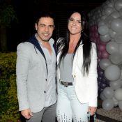 Zezé Di Camargo e noiva, Graciele Lacerda, vão a aniversário de sobrinha. Fotos!