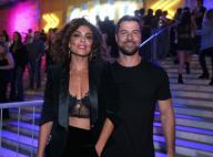 Juliana Paes, com lingerie à mostra, curte Baile da Favorita com marido. Fotos!