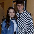 Leo Cidade e Larissa Manoela estão trabalhando juntos no musical 'A Noviça Rebelde'