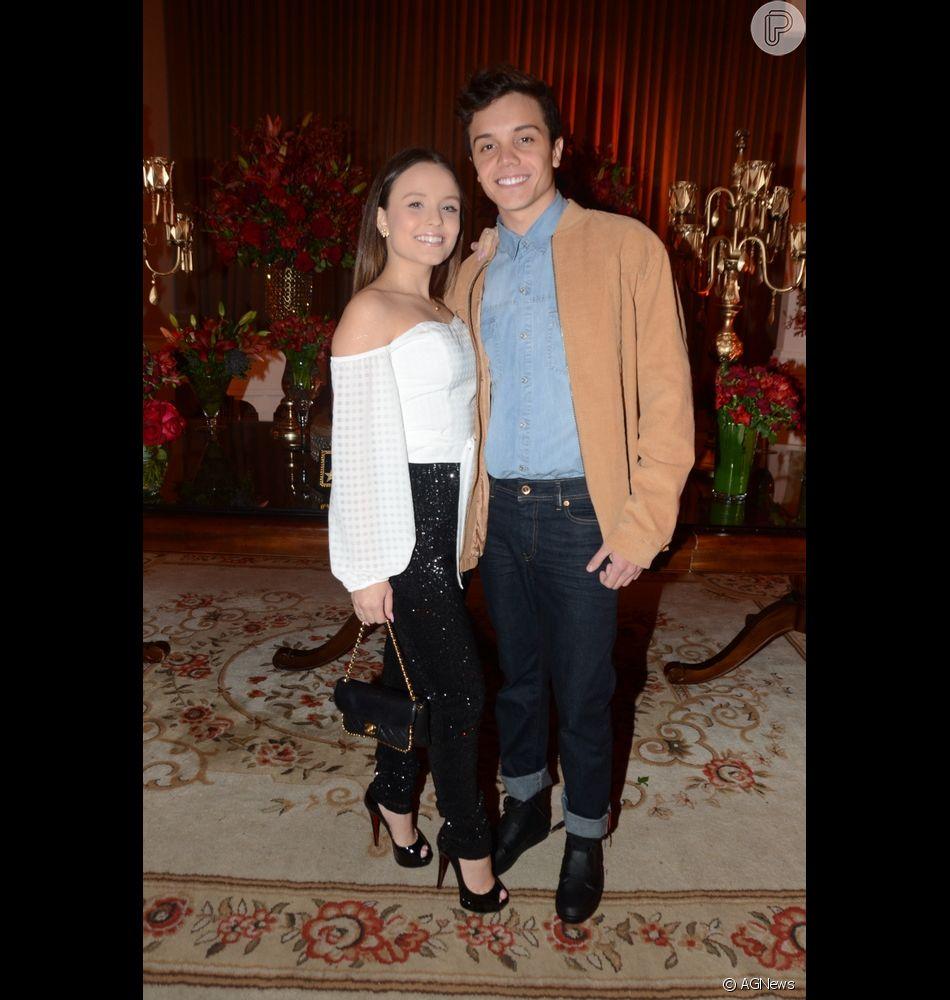 Leo Cidade e Larissa Manoela estão juntos há sete meses