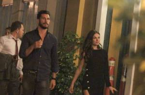 Isis Valverde passa noite com Uriel del Toro após festa de 'Boogie Oogie'