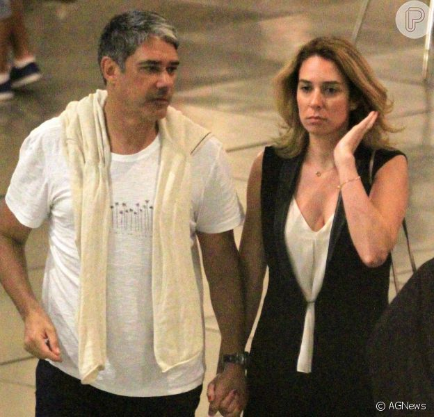 William Bonner e a fisioterapeuta Natasha Dantas vão se casar