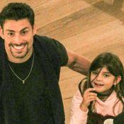 Sofia, filha de Cauã Reymond, esbanja fofura em vídeo da tia: 'Meu amorzinho'
