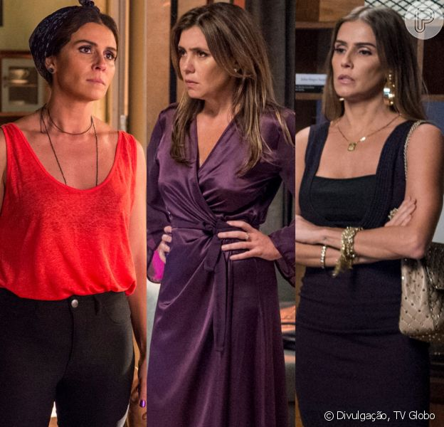Luzia (Giovanna Antonelli) arma golpe para colocar Karola (Deborah Secco) contra Laureta (Adriana Esteves) no capítulo que vai ao ar dia 15 de setembro de 2018 na novela 'Segundo Sol'