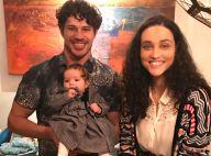 José Loreto exibe a filha, Bella, dormindo em seu colo: 'Pode parar o tempo?'