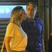 William Bonner janta com a noiva, Natasha Dantas, o filho e a nora no Rio