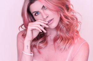De visual novo, Julia Faria dá dicas para cabelo não desbotar: 'Shampoo ideal'