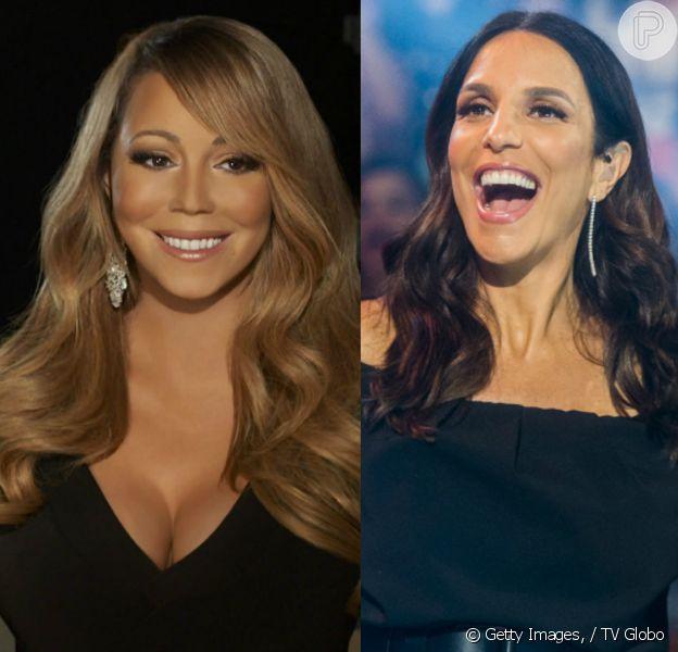 Mariah Carey passa a seguir Ivete Sangalo no Instagram
