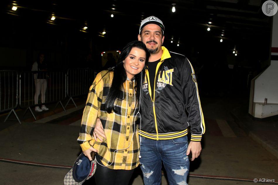 Maraisa, da dupla com Maiara, terminou noivado com empresário Wendell Vieira, de acordo com Leo Dias nesta quinta-feira, dia 06 de agosto de 2018
