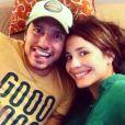 Juliana Knust e Gustavo Machado estão juntos desde 2008. Casal espera o seu segundo filho
