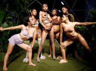 Sensualidade e grávidas na passarela do desfile da grife de lingerie de Rihanna