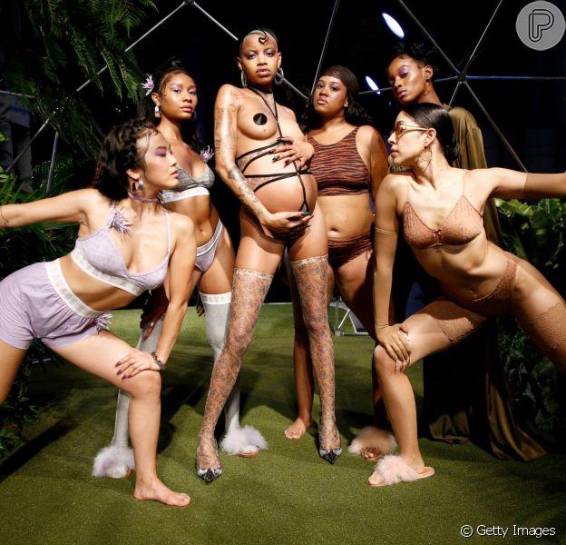 O show apostou na diversidade do casting, refletindo os produtos da linha feita para atender ao maior número possível de mulheres