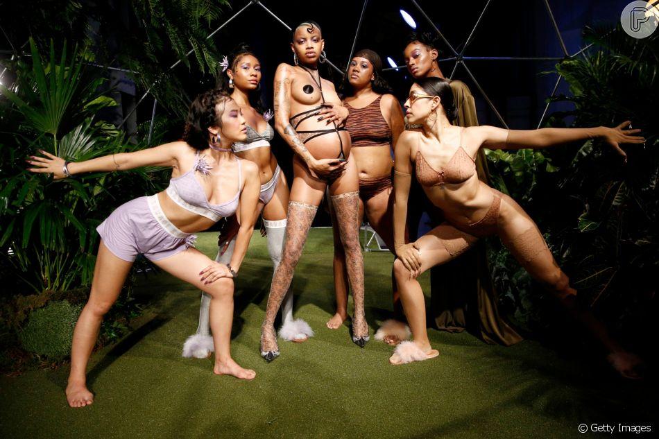 f5c7dd836a Savage x Fenty  marca de lingerie de Rihanna leva diversidade ...