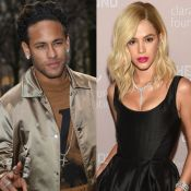 Neymar se assusta com cabelo loiro de Bruna Marquezine e reage: 'Eita'. Vídeo!