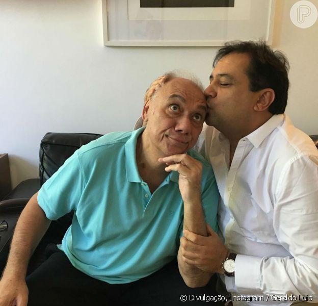 Geraldo Luis lamentou 1 ano da morte de Marcelo Rezende neste domingo, 16 de setembro de 2018
