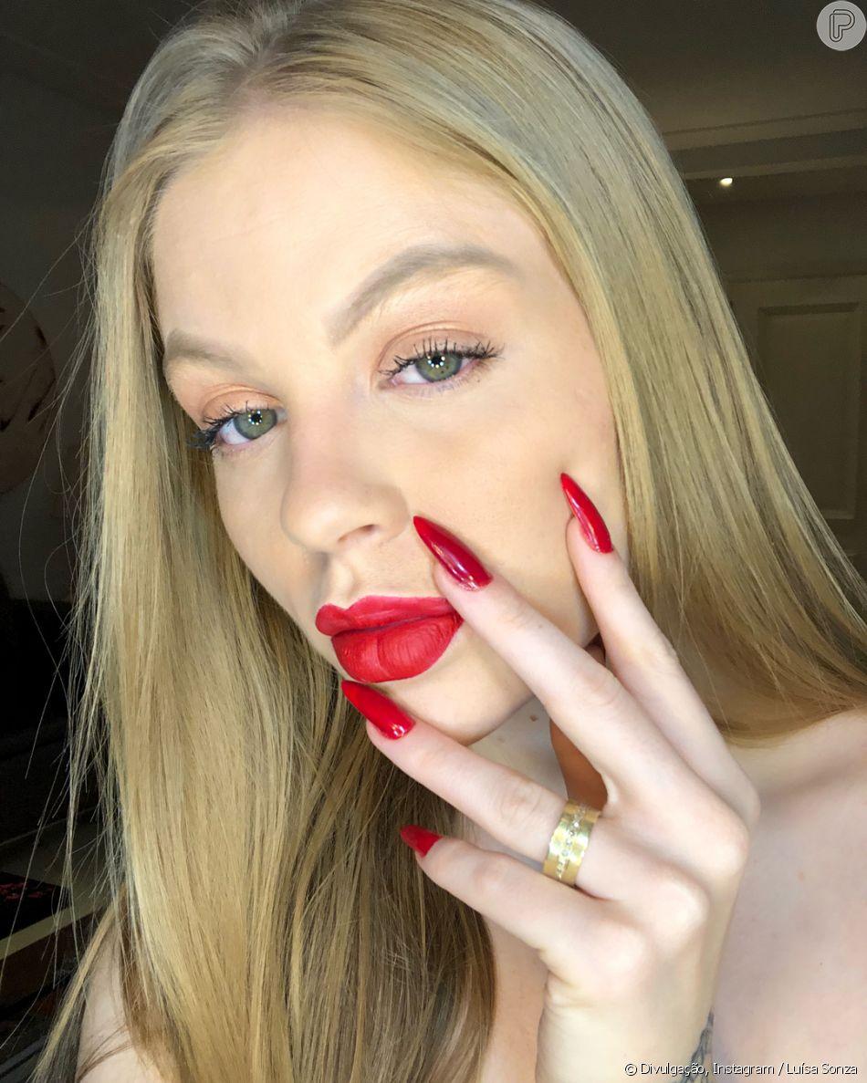 Luísa Sonza falou sobre preenchimento labial em entrevista