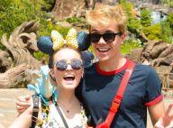 Namorado de Larissa Manoela encerra 1ª viagem a Orlando e comemora: 'É surreal'