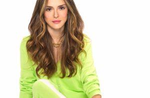 Isabelle Drummond ilumina cabelo para nova novela.'Mel frio', define hairstylist