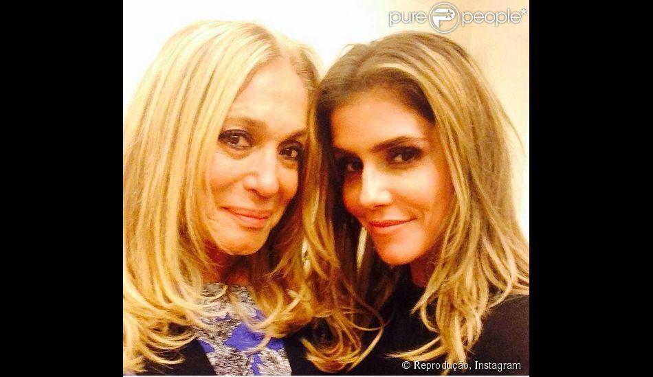 Susana Vieira reencontra Deborah Secco e comemora novo trabalho ao lado da atriz. 'Minha 'eterna filha'', escreveu Susana