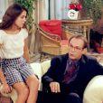 Em 'A próxima vítima' (1995), Deborah Secco contracenou com José Wilker