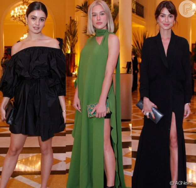 Sophie Charlotte, Fiorella Mattheis, Thaila Ayala, Paolla Oliveira e mais famosas esbanjam elegância em jantar beneficente