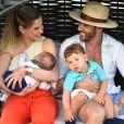 Gusttavo Lima afastou os planos de ter mais filhos com a mulher, Andressa Suita