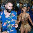 Gleici Damasceno e Wagner Santiago, namorado da campeã do 'BBB18', vão ser destaque da Paraíso do Tuiuti no carnaval 2019