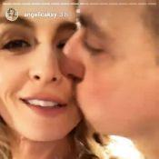 Já é 2019! Angélica ganha beijo de Huck ao gravar vinheta de fim de ano da Globo