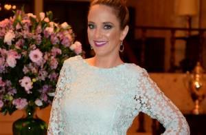 Ticiane Pinheiro prestigia evento de grife de joias com Mariana Weickert