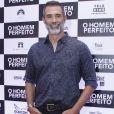 Marcos Pasquim confere a pré-estréia do filme 'O Homem Perfeito' no Kinoplex Leblon, zona sul do Rio de Janeiro, na noite desta quarta-feira, 26 de setembro de 2018