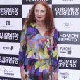 Débora Olivieri confere a pré-estréia do filme 'O Homem Perfeito' no Kinoplex Leblon, zona sul do Rio de Janeiro, na noite desta quarta-feira, 26 de setembro de 2018
