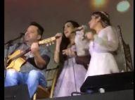 Camilla Camargo faz dueto com Wanessa e canta 'É o Amor' após casamento. Vídeo!