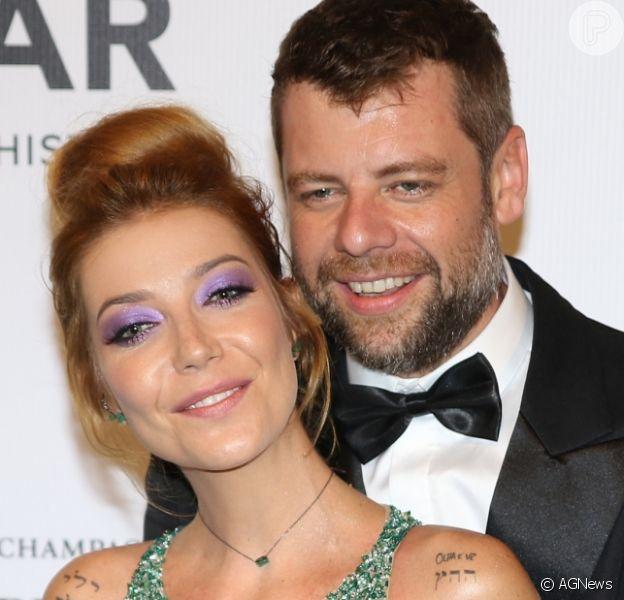 Luiza Possi se casa com o diretor do 'Domingão do Faustão' Cris Gomes
