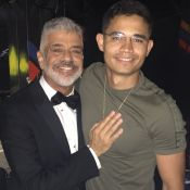 Lulu Santos e o namorado, Clebson Teixeira, fazem trilha no RJ: 'Continua rindo'