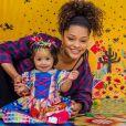 Yolanda, filha de Juliana Alves, encantou a web ao participar de  arraial