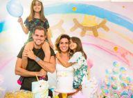 Gio Antonelli festeja aniversário das filhas gêmeas com tema unicórnio. Fotos!