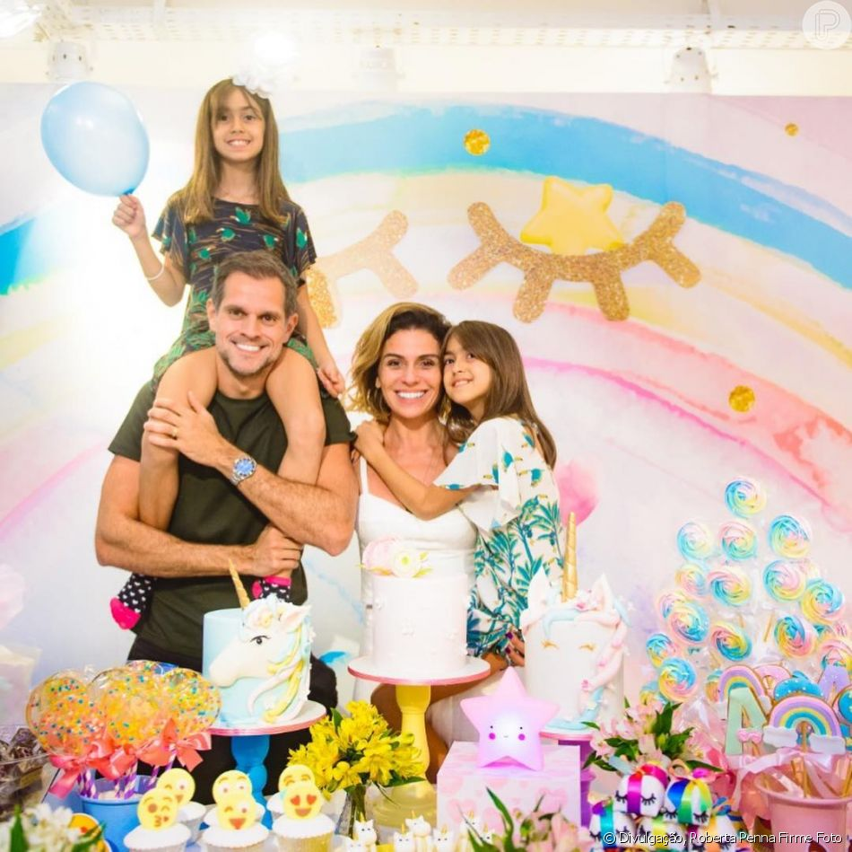 Veja Fotos Da Festa Das Filhas Gêmeas De Giovanna Antonelli Com Tema