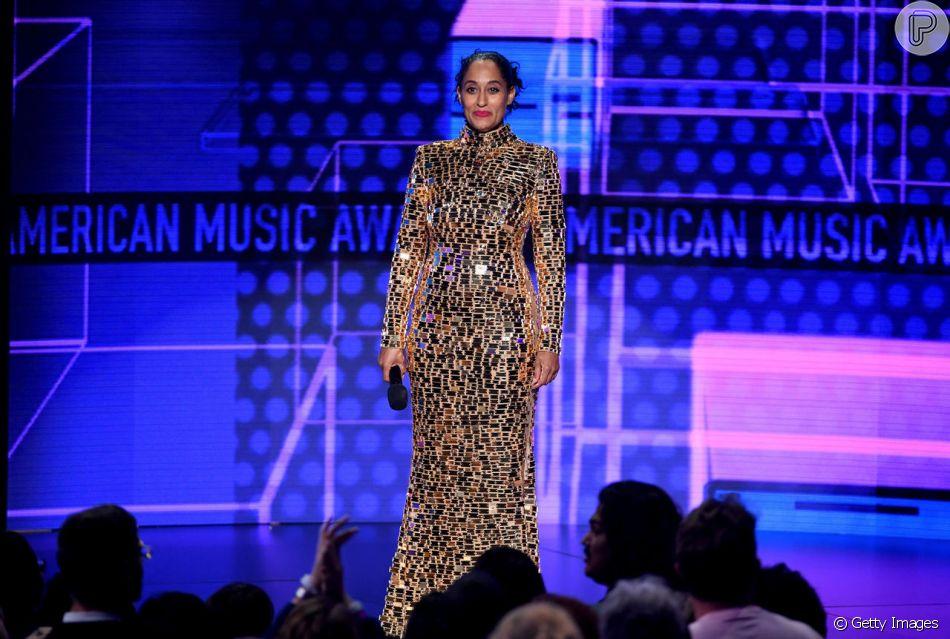 AMA Awards 2018, premiação da música americana aconteceu nesta terça-feira, 9 de outubro de 2018. A filha de Diana Ross, Tracee Ellis Ross foi a anfitriã da premiação