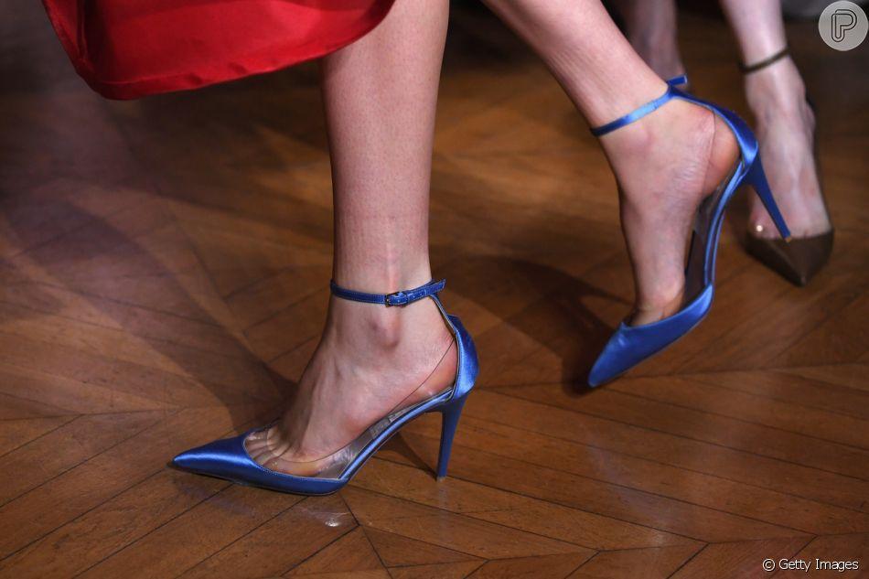 Sapato transparente  veja como usar e saiba onde encontrar - Purepeople d48f0e39e6