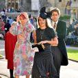 Convidadas no casamento da princesa Eugenie