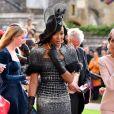 Elegantérrima, Naomi Campbell optou por um modelo de alta-costura da Ralph & Russo