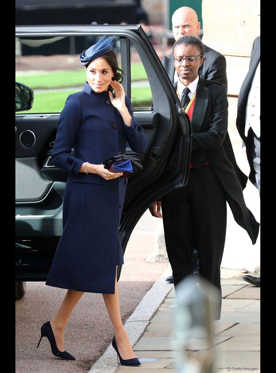 01a4fc6efd Casamento da princesa Eugenie em Windsor aconteceu em 12 de outubro de  2018. Meghan Markle