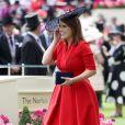 All red: o vestido vermelho é um dos looks queridinhos da Princesa Eugenie para eventos