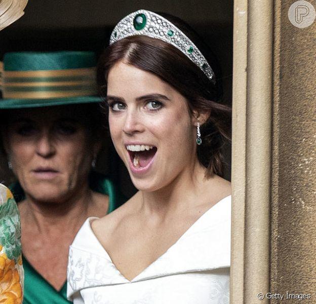A Princesa Eugenie casou-se no dia 12 de outubro! Saiba quem é a princesa real