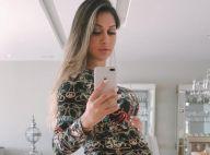 Mayra Cardi brinca sobre demora da filha em nascer: 'Cheia de personalidade'