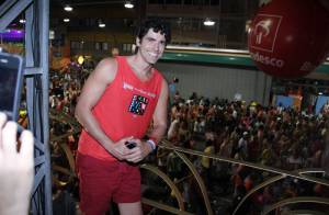 Reynaldo Gianecchini curte o primeiro Carnaval após tratamento contra câncer