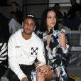 Bruna Marquezine e Neymar fizeram última aparição pública no desfile da marca Off White, na Semana de Moda de Paris, em setembro de 2018