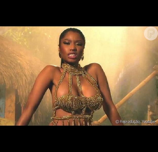 Dançarina de Nicki Minaj é picada por cobra durante ensaio para o Video Music Awards da MTV