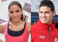 Anitta reafirma solteirice e esclarece relação com James Rodríguez: 'Amigos'