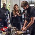 Laureta (Adriana Esteves) vira  fugitiva da polícia  novela 'Segundo Sol'